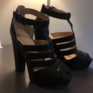 beau + ashe sexy platform heels
